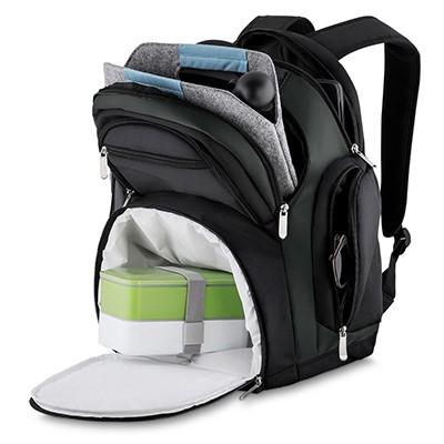 Mochila de Poliéster para Notebook com Compartimento Térmico LX13556