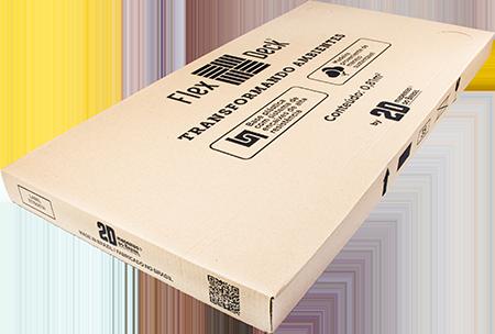 FlexDeck® - Búzios - Âmbar - Caixa com 4 unidades - 0,81m²