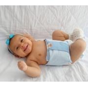 Almofada para aliviar cólica do bebê