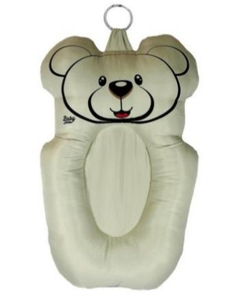 Almofada Banho Urso Bege