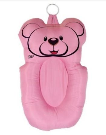 Almofada Banho Urso Rosa