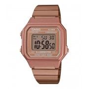 RELOGIO CASIO VINTAGE DIGITAL ROSE FEMININO B650WC-5ADF