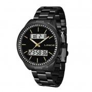 Relógio Lince Analógico/Digital Preto Feminino LAN4591L