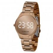 Relógio Lince Digital Feminino Rose MDR4617L BXRX