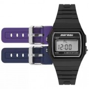 Relógio Mormaii Digital Troca Pulseira Unissex MOJH02AH/8P