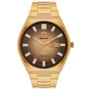 Relógio Orient Automático Dourado Masculino 469GP086 C1KX