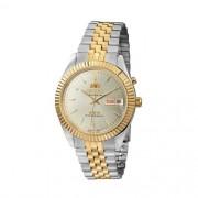 Relógio Orient Automático Dourado/Prata Unissex 469ED1 S1KS