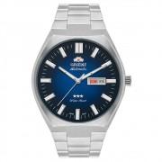 Relógio Orient Automático Fundo Azul Masculino 469SS086