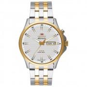 Relógio Orient Automático Prata/Dourado Masculino 469TT043