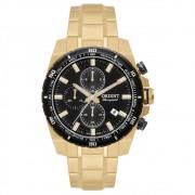 Relógio Orient Dourado/Preto Masculino MGSSC010