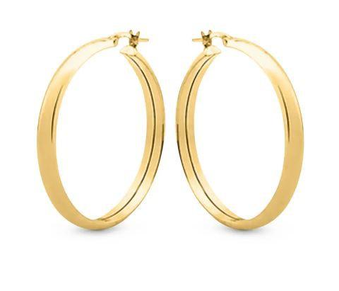 Argola Oca Ouro 18K 2,5cm