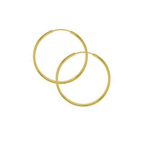 Argola Tubolar Ouro 18K 2,1cm