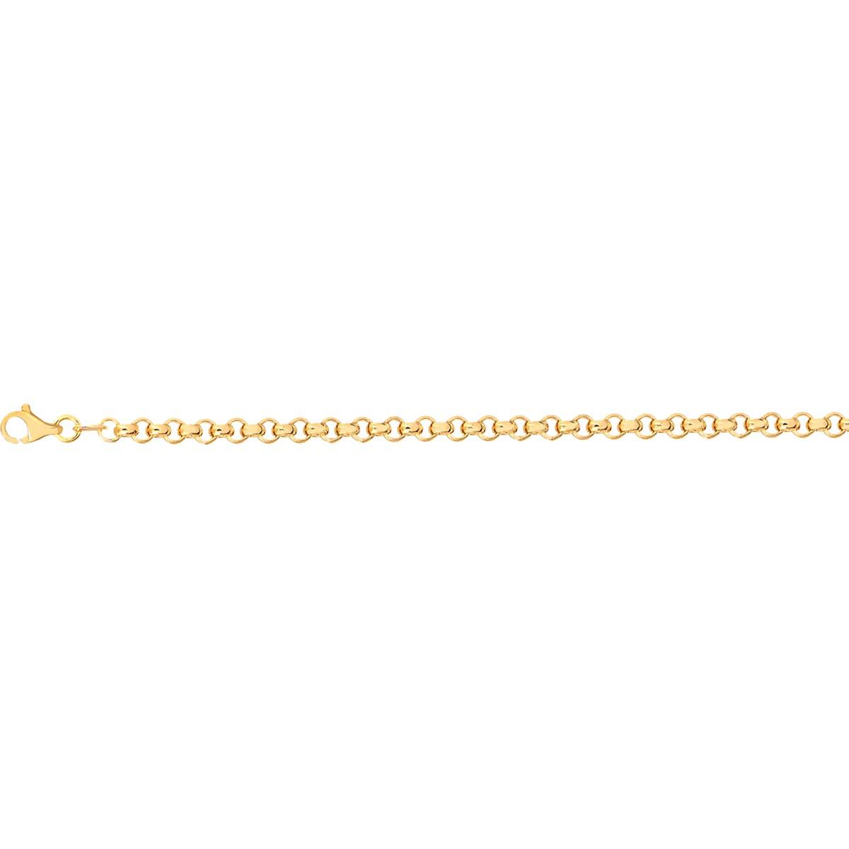 Corrente Ouro 18K Elo português 50cm 6,8g
