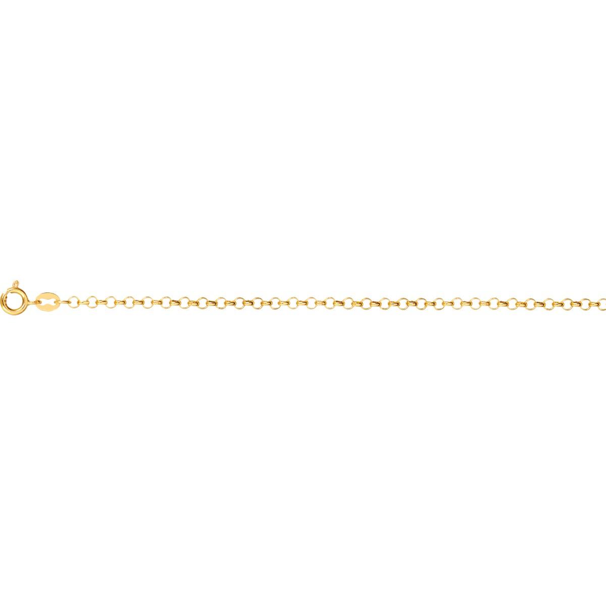Pulseira Ouro 18K Elo Português 0,80g 18cm