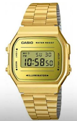 Relógio Casio A168WEGM