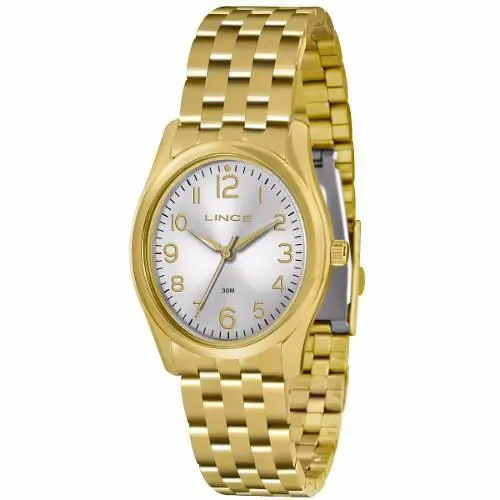 Relógio Lince Dourado Feminino LRG4321L