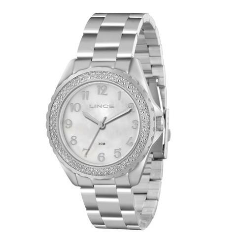 Relógio Lince Prata Feminino LRM4314L