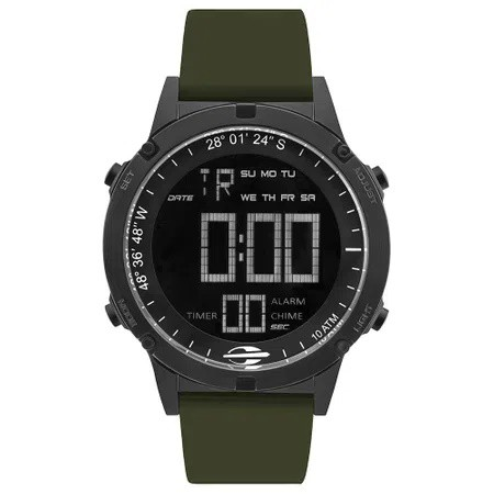 Relógio Mormaii Digital Thunder Preto Masculino MOW13901F/8V