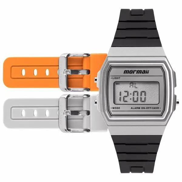 Relógio Mormaii Digital Troca Pulseira Unissex MOJH02AG/8K