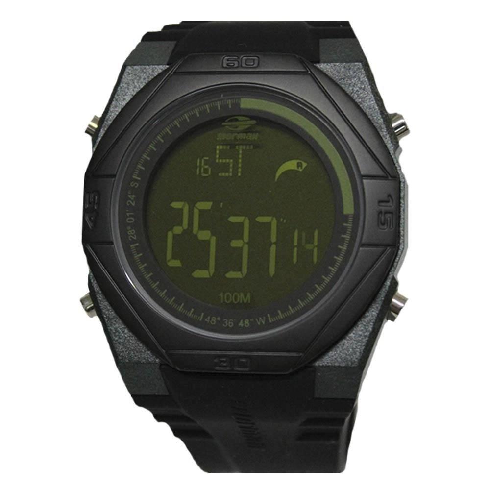 Relógio Mormaii Nautique Digital Masculino MO3374B/8V