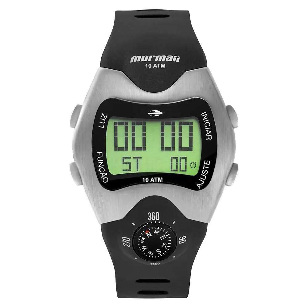 Relógio Mormaii Thunder Prata Masculino MO1324AB/1P