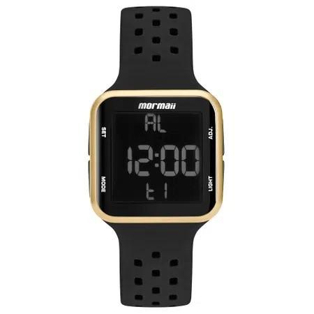 Relógio Mormaii Wave Digital Preto Unissex MO6600/8D