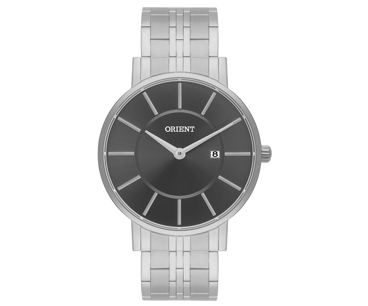 Relógio Orient Analógico Masculino Prata MBSS1261