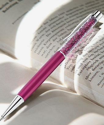 Caneta Swarovski Crystalline pen-fuchsia