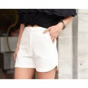 Short Alfaiataria Basic - Off White