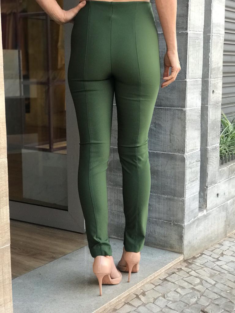 Calça Feminina Alfaiataria Verde