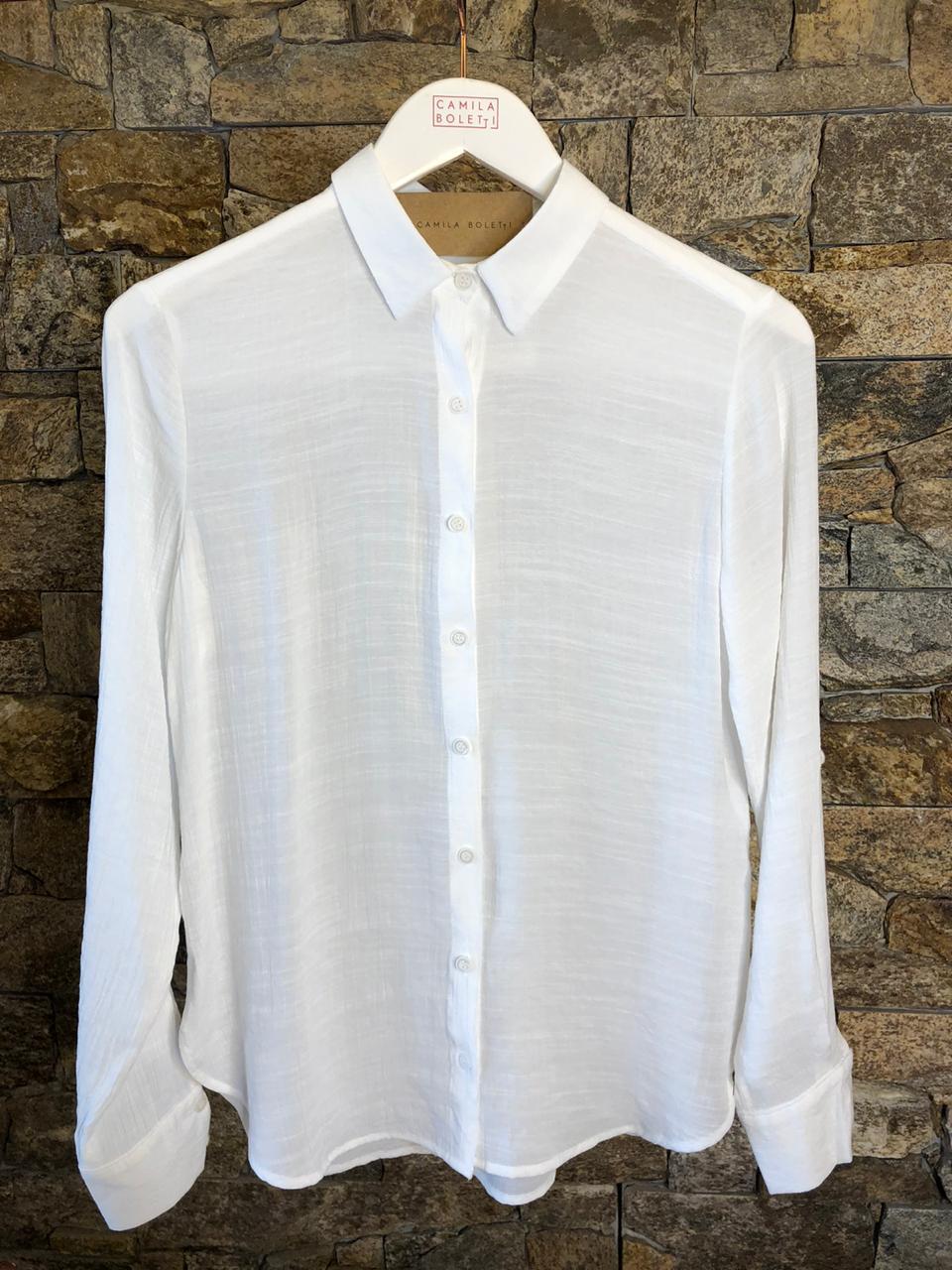 Camisa Feminina Com Botões - CORES