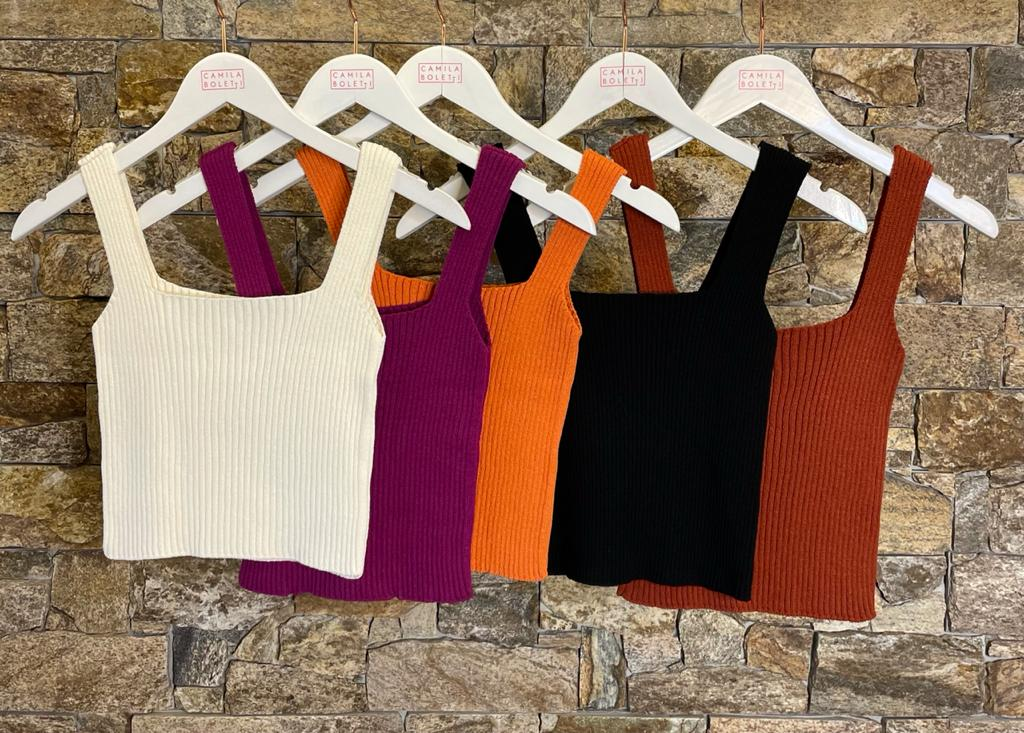 CROPPED TRICOT - CORES