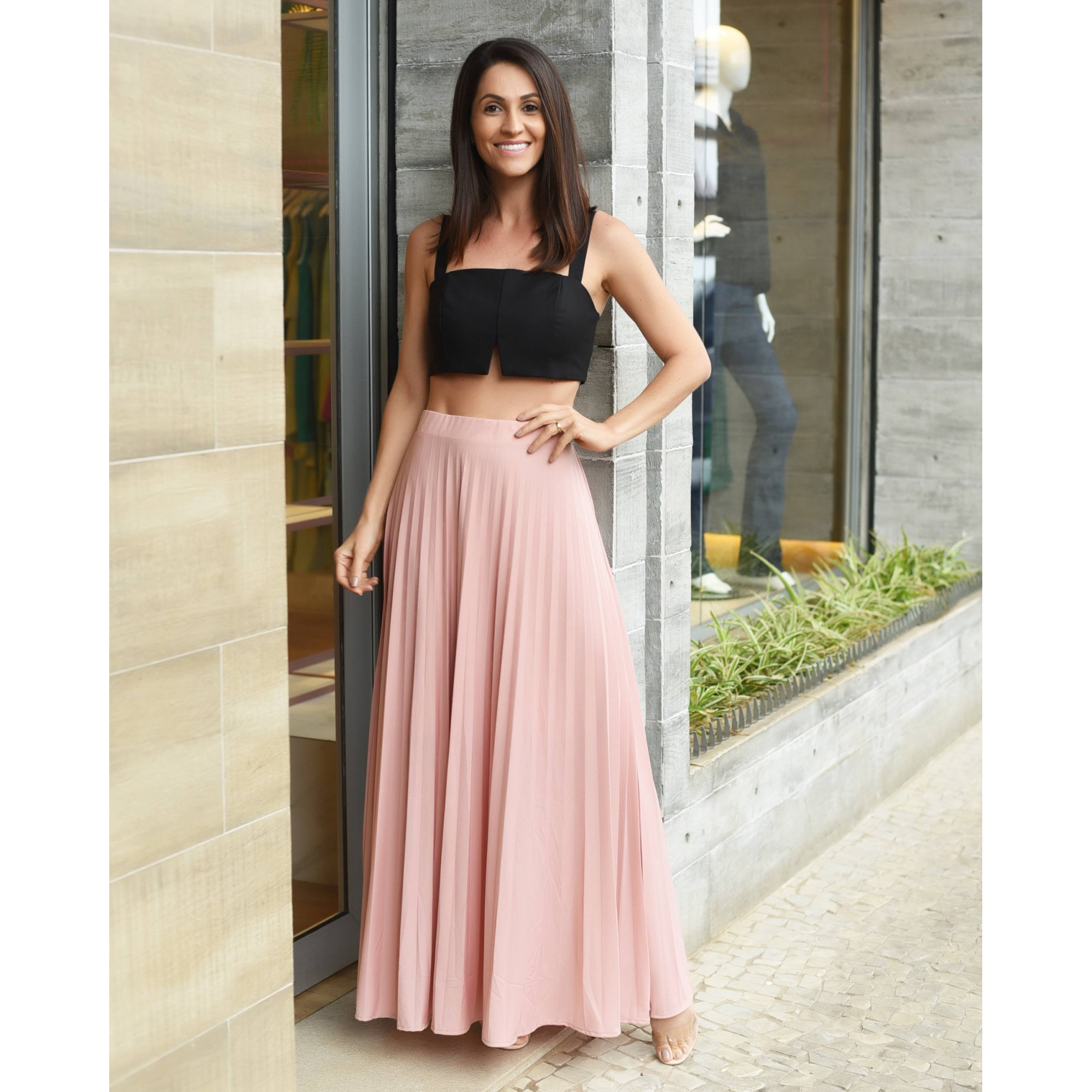 TOP CROPPED ALLURE - CORES