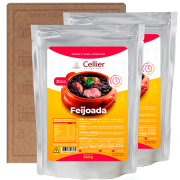 Feijoada Cellier - Caixa com 12 unidades (R$ 15,29 a Unidade)