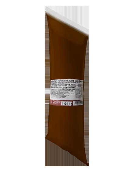 Nutellier Creme de Avelã com Cacau Cellier - Caixa com 06 unidades (R$ 42,00 a Unidade)