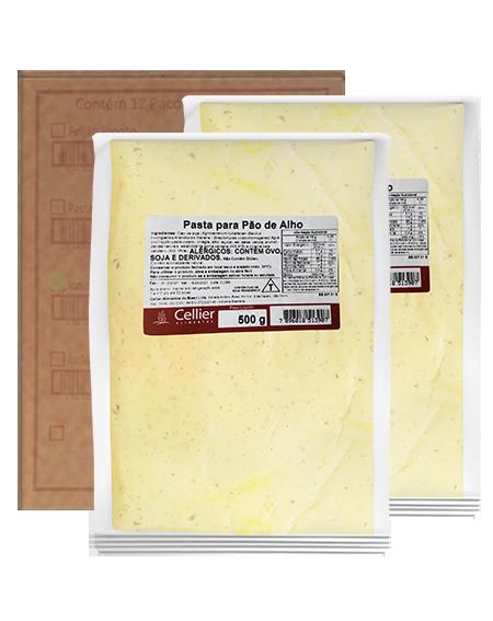 Pasta de Alho Cellier - Caixa com 08 Unidades (R$ 7,19 a Unidade)