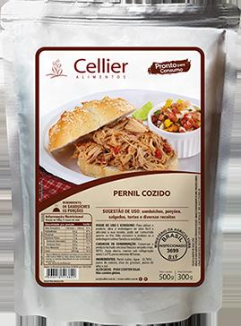 Pernil Cozido Cellier - Caixa com 12 Unidades (R$ 18,00 a Unidade)