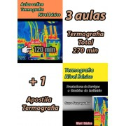 Kit 3 Aulas + 1 apostila online Termografia Nível Básico