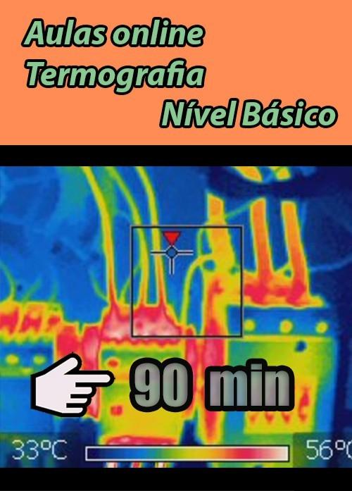 Curso online Termografia 90 minutos (apostila não inclusa)