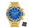 Dourado com azul 17