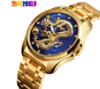 Dourado com fundo azul 35