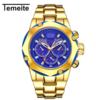 Dourado com azul 69