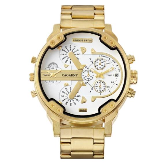 Relógio Cagarny Luxo Exclusive