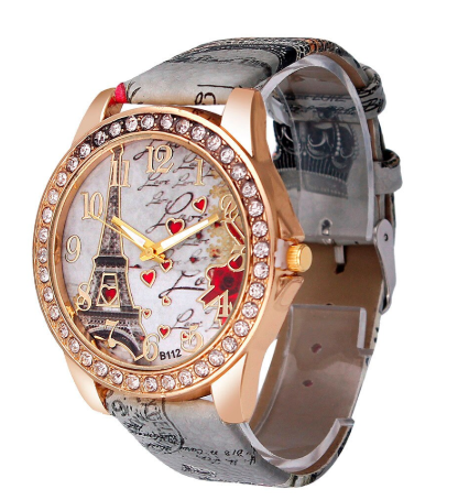 Relógio charme Paris