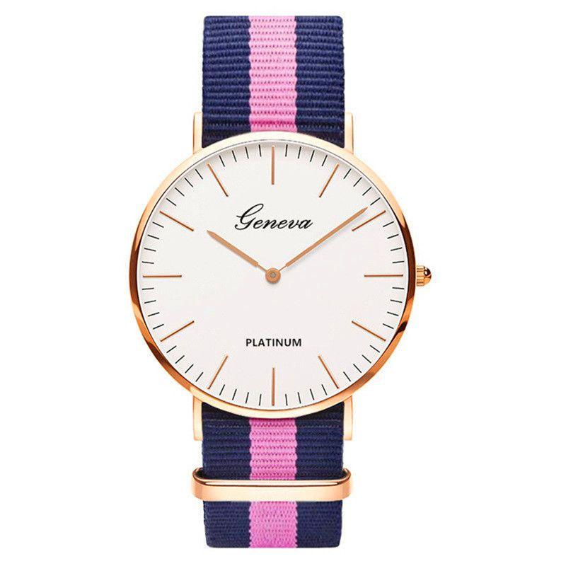 Relógio Geneva Fashion