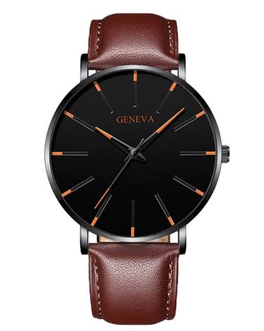 Relógio Geneva minimalista