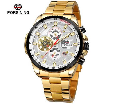 Relógio Masculino Automático Forsining Funcional