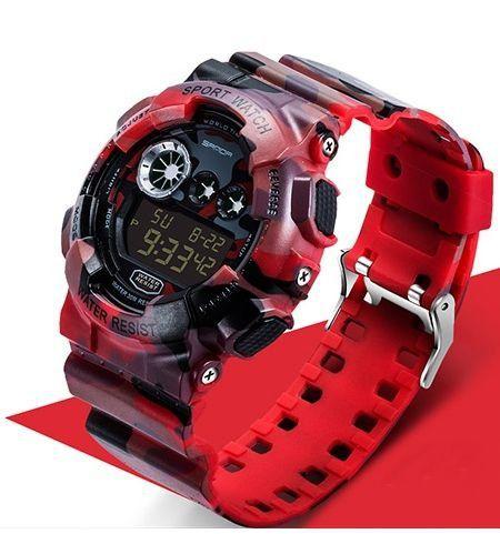 Relógio Masculino Shock Camuflado - Sanda