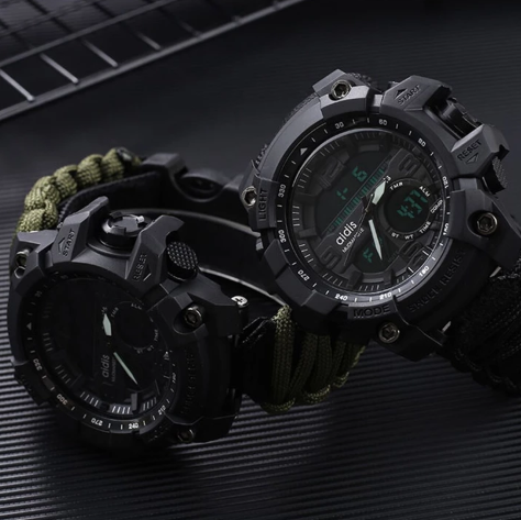 Relógio militar de sobrevivência