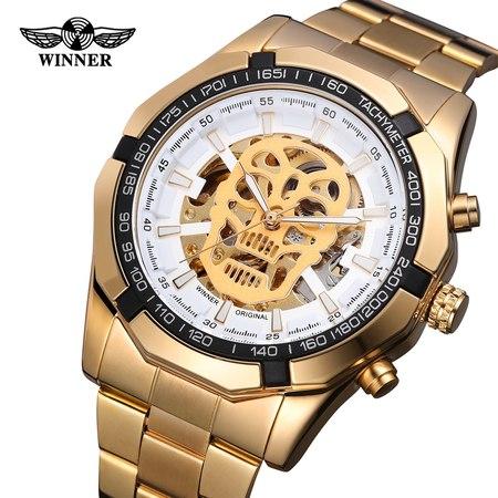Relógio Winner Skull Automático